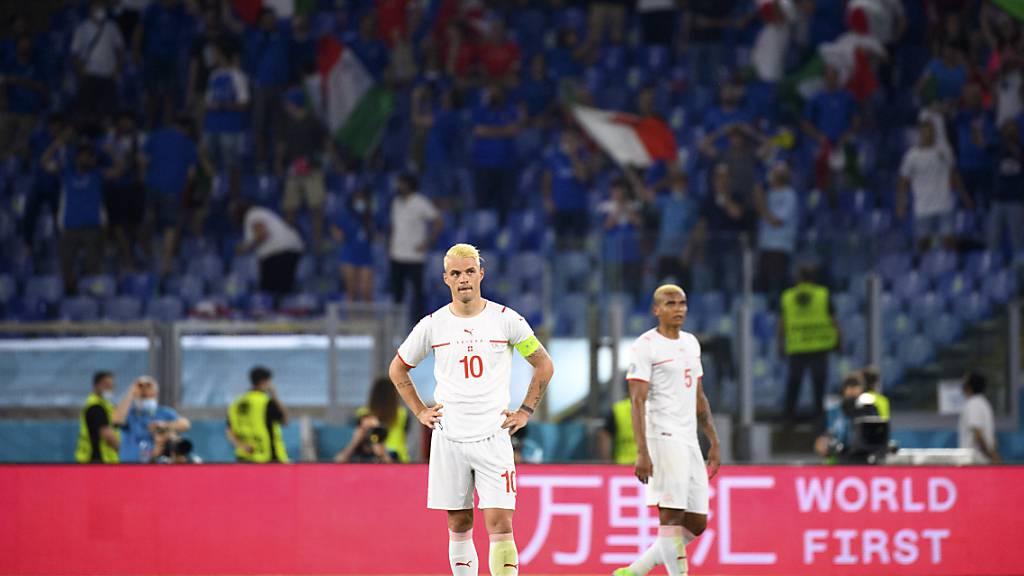 Schweizer Nati verliert gegen Italien zweites EM-Spiel 0:3