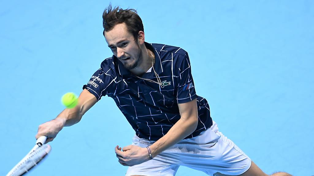 Daniil Medwedews triumphiert nach Bercy auch in London