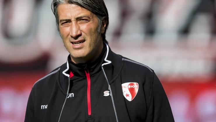 Murat Yakin kommt mit Sion gegen Xamax nicht über ein 1:1 hinaus