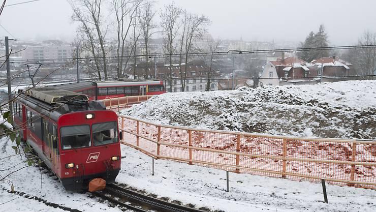 Die Durchmesserlinie ist das grösste Bauprojekt in der Geschichte der Appenzeller Bahnen. Die Teilstrecke auf dem Ruckhaldenhang in St. Gallen wird durch einen Tunnel ersetzt.