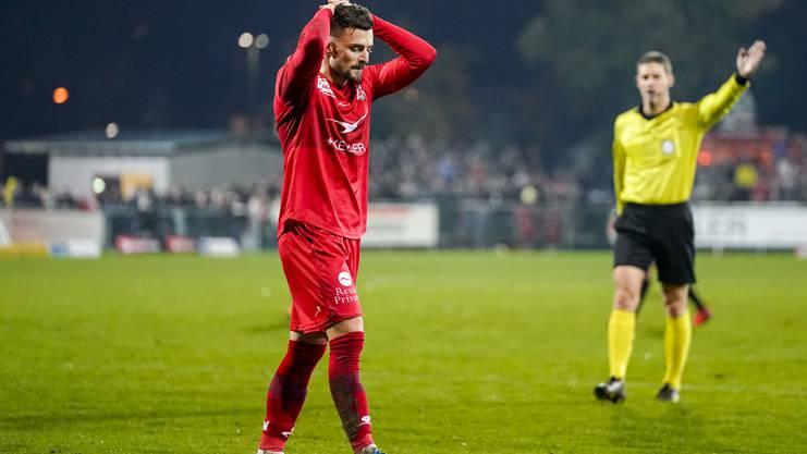 Es läuft derzeit nicht wie gewünscht beim FC Winterthur.