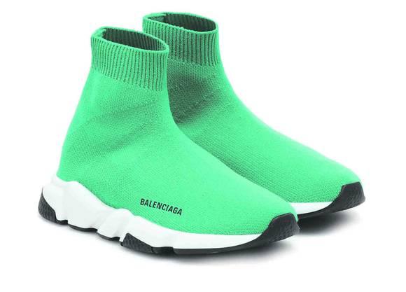 Balenciaga: Die hippen Socken-Sneakers gibt es jetzt auch für Kinder. Preis: 300 Franken.