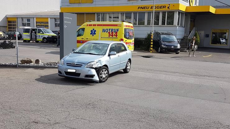 Der Unfall ereignete sich am Samstag Vormittag, kurz vor 10 Uhr.