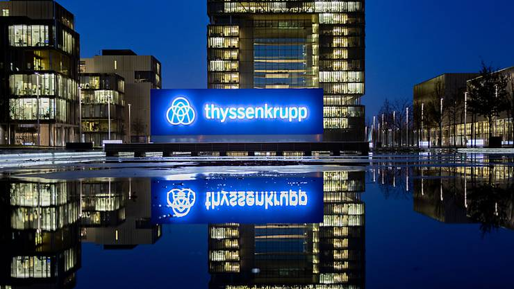 Die Konzernzentrale von ThyssenKrupp. (Archivbild)