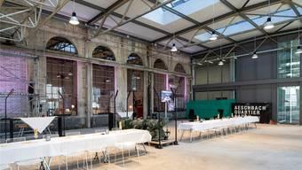 Ein Blick in «EventSchmiede» der Aeschbachhalle.Dominique Meienberg, zvg