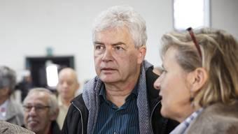 Felix Wettstein und Brigit Wyss (rechts) anlässlich der National-und Ständeratswahlen 2015.
