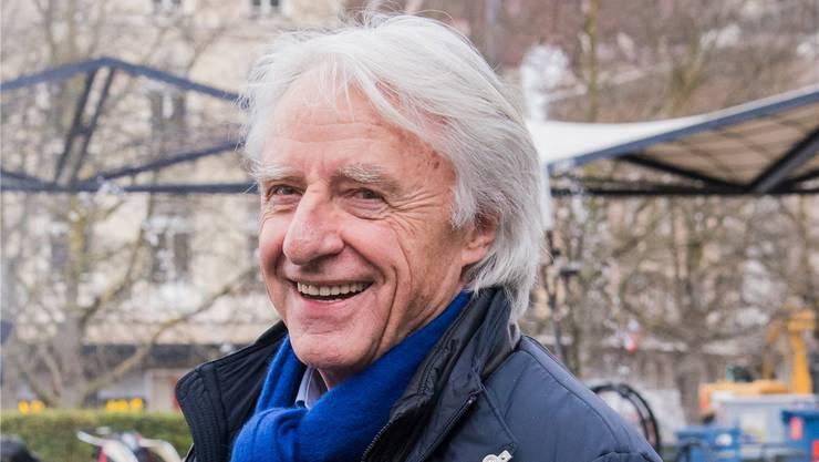 In Basel fühlt sich Emil Steinberger zu Hause. Er kann zu Fuss ins Theater und ins Kino.