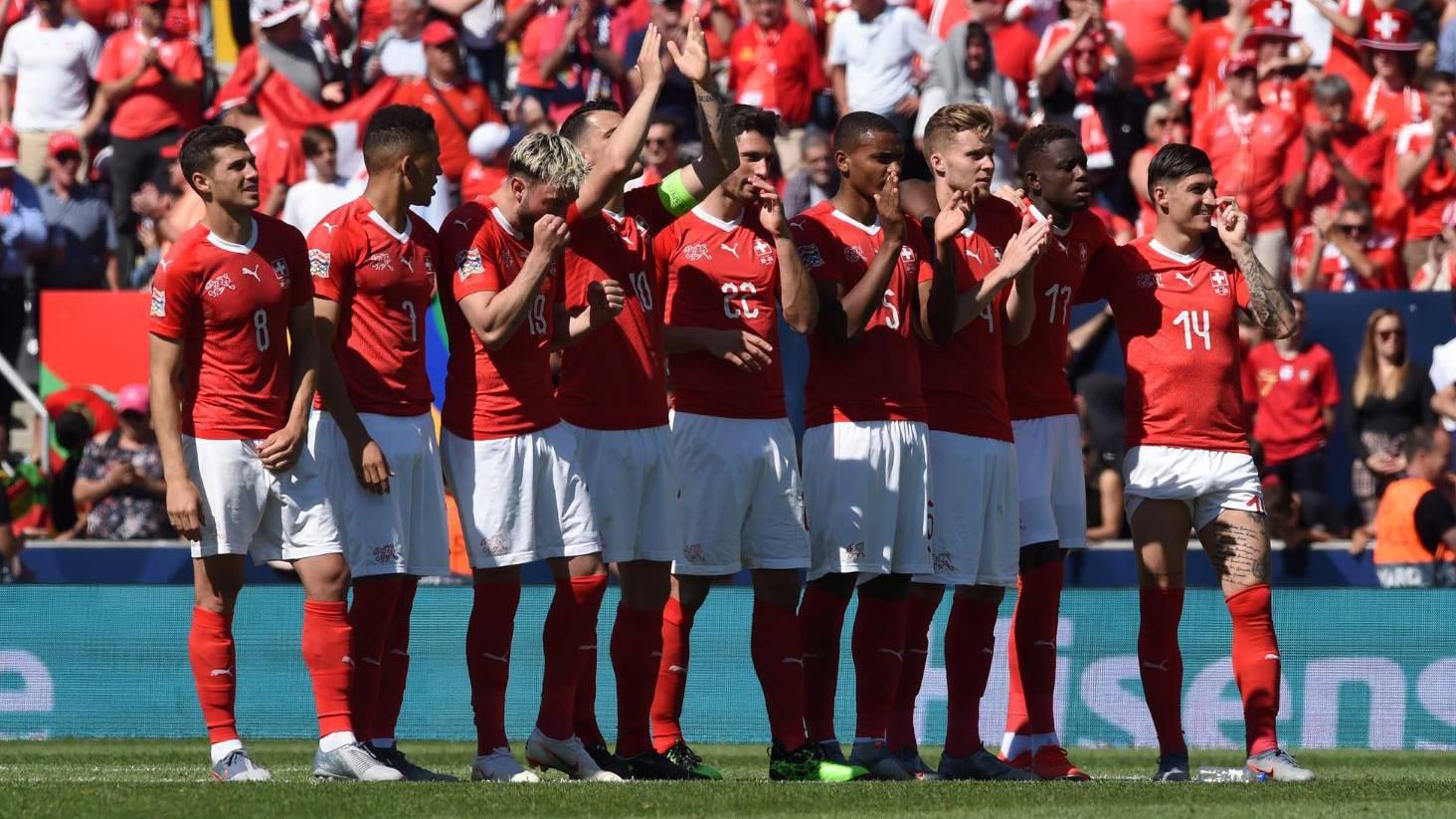 Die Schweiz verliert gegen England