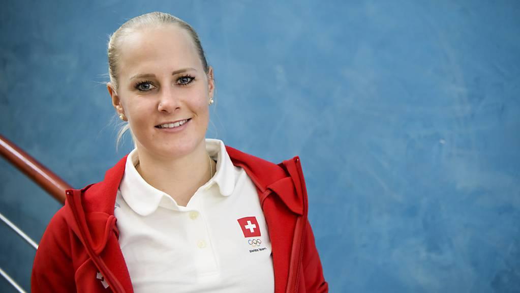 Julie Zogg hielt sich am Weltcup in Scuol unter den Besten