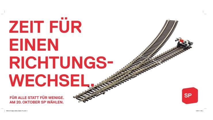 Die SP Schweiz setzt sich bei den Wahlen im Oktober für einen Richtungswechsel ein.