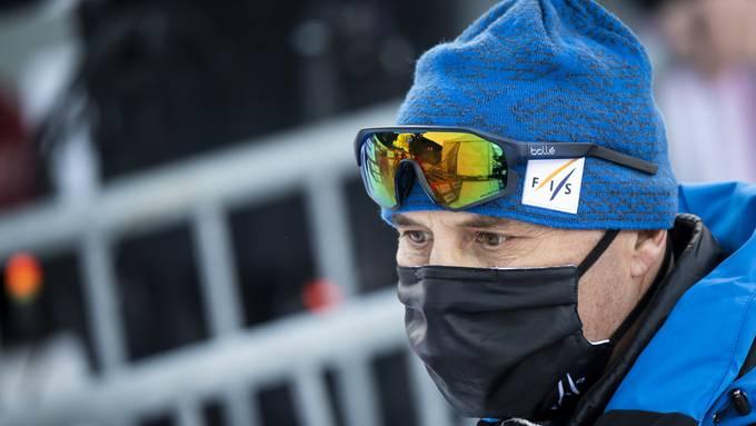 Markus Waldner, der FIS-Renndirektor wurde positiv auf Corona getestet.