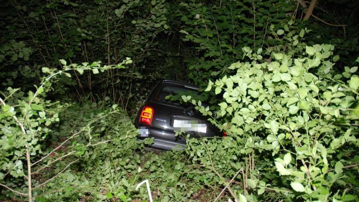 Verkehrsunfall in Trimbach.