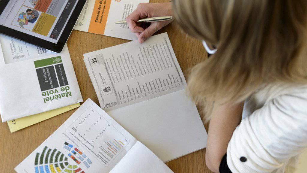 Im Kanton Solothurn hat eine Person nicht weniger als 39 Wahllisten selber bearbeitet. Die Staatskanzlei reichte eine Strafanzeige ein (Symbolbild).