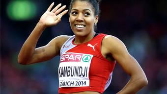 Mujinga Kambundj, Halterin des Schweizer Rekords, wird mit ihrem Team an den diesjährigen Schweizer Meisterschaften am 100-m-Wettbewerb erwartet.