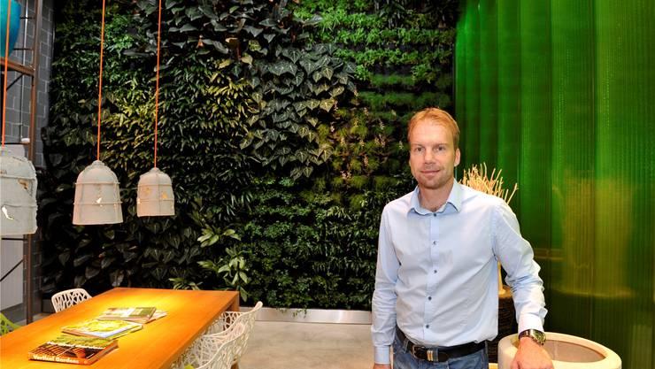 Unternehmer Michel Aebi will die Energiewende mittragen.Archiv/ul
