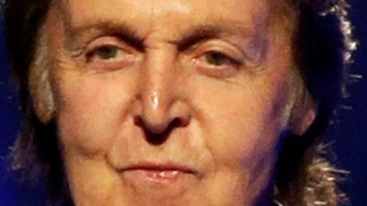 Unverwüstlicher Melodienlieferant: Der 71-jährige Paul McCartney. KEYSTONE