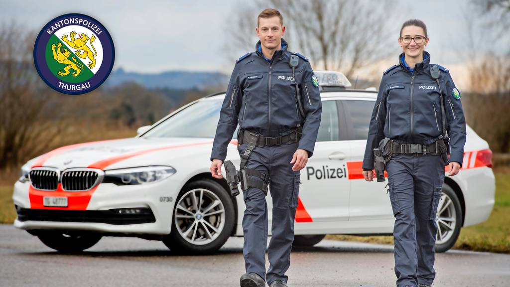 91 zusätzliche Polizistinnen und Polizisten für den Thurgau