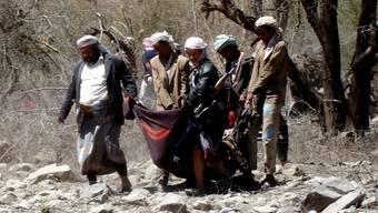 Mutmassliche Al-Kaida-Kämpfer. (Archiv)