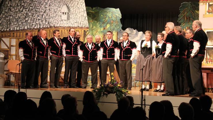 Das Konzert und Theater gibts nochmals heute abend in der Büelenhalle zu sehen.