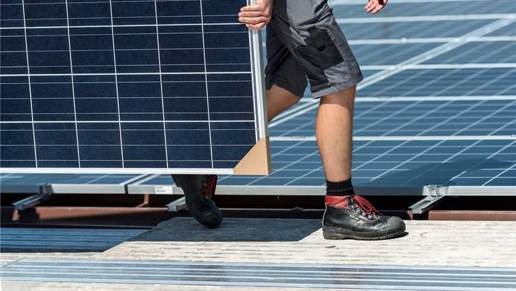 Der Solarenergie kommt im neuen Energiegesetz eine wichtige Rolle zu.