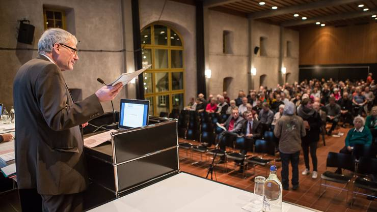 Könnte bald ein Relikt der Vergangenheit sein: Die Gemeindeversammlung in Solothurn.