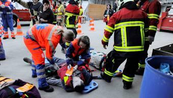 Katastrophenübung