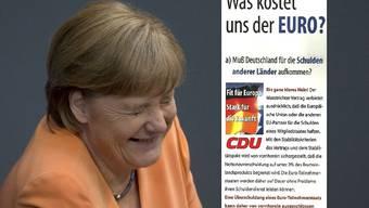 Mit diesem Wahlplakat führten Merkel und Co. die Deutschen hinters Licht. (Klicken um zu Vergrössern)
