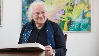 Ruth Wälchli in der Galerie Schlössli, Gontenschwil