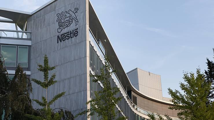 Nestlé wurde von der NGO CDP für seine Massnahmen zum Klimaschutz gelobt: der Hauptsitz des Unternehmens in Vevey (Archivbild).
