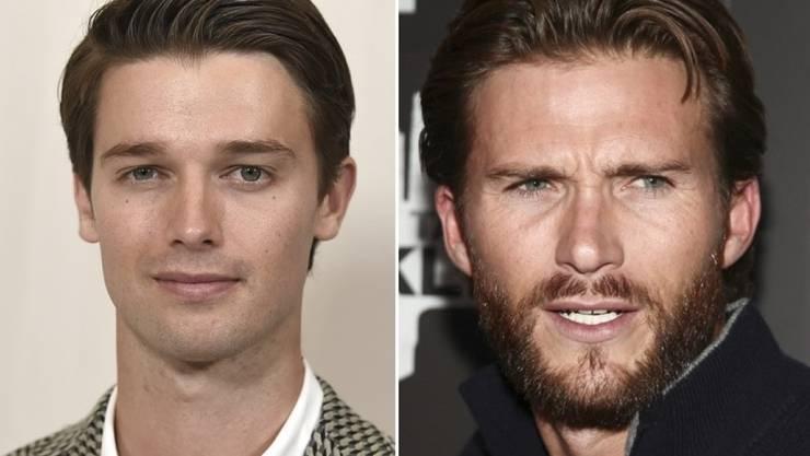 """Mit Scott Eastwood (r, """"Pacific Rim: Uprise"""") und Patrick Schwarzenegger (l, """"Midnight Sun"""") haben am Donnerstag gleich zwei Promi-Söhne neue Filme am Kinostart. (Archivbilder)"""