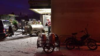 Letzte Milchannahme in der Chäsi Wolfwil nach rund 125 Jahren