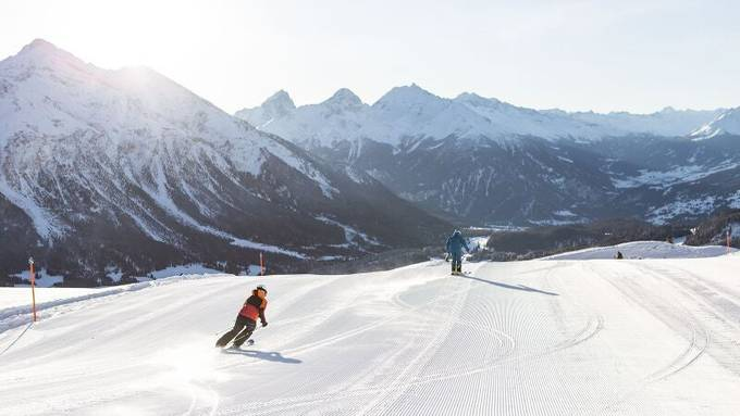 Bilder wie solche soll es nach dem Willen Italiens erst ab Januar wieder geben: Skigebiet Lavoz in der Saison 2017/18.