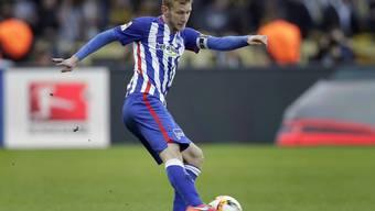 Nach 12 Saisons bei Hertha Berlin in der deutschen Bundesliga kehrt Fabian Lustenberger im Sommer in die Schweiz zurück. Der Defensivspieler unterschreibt bei den Young Boys einen Dreijahresvertrag