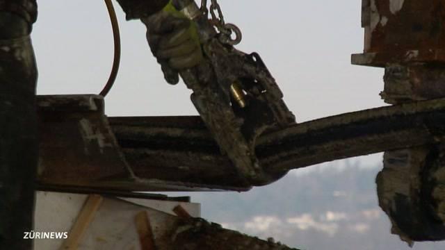 Wasserbergung von 81 Tonnen Hochspannung