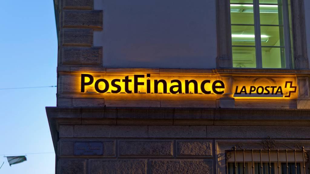Postfinance baut bis Ende 2021 rund 130 Stellen ab