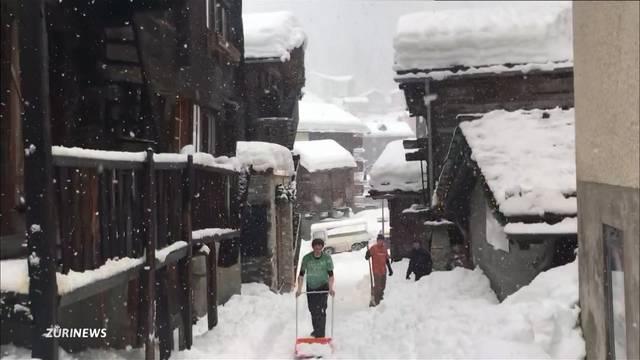 13`000 Touristen sitzen in Zermatt fest