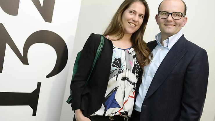 Ex-Snowboarderin Manuela Pesko und der Immobilienunternehmer Remo Stoffel haben am Samstag ihr viertes Kind begrüssen dürfen. (Archivbild 2015)