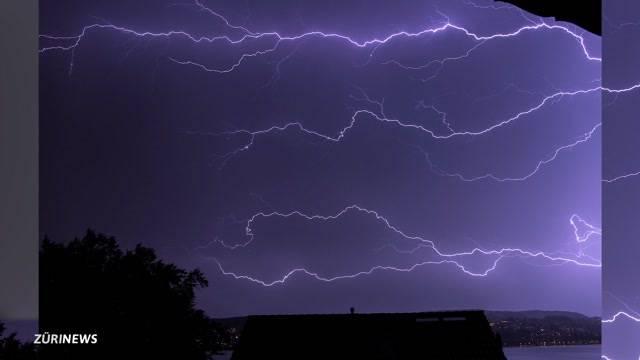 Blitz-Rekord sorgt für Spektakel am Nachthimmel