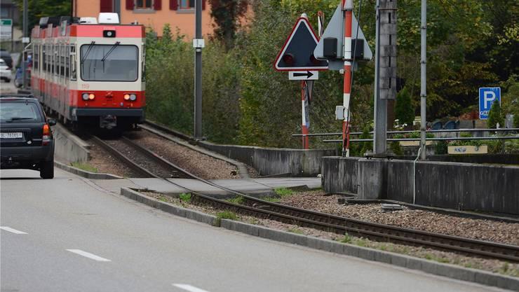 Die Waldenburgerbahn ist mit ihren 75 Zentimetern Spurbreite einmalig.