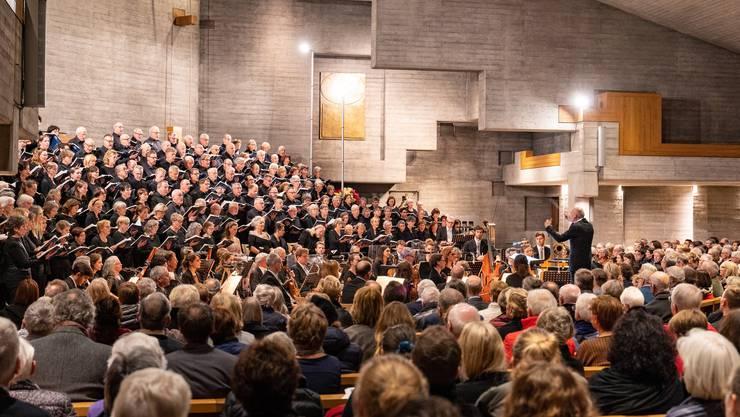 Eine tiefbewegende Aufführung von Verdis «Requiem» in der Bettlacher St. Klemenzkirche.