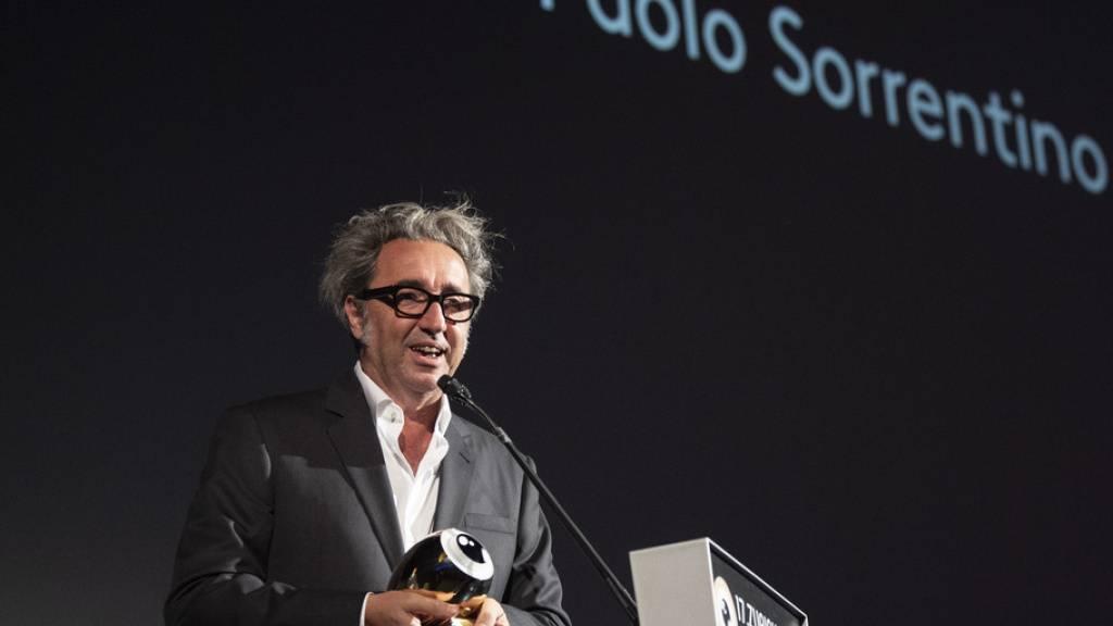 Filmregisseur Paolo Sorrentino zeigt Schalk am ZFF