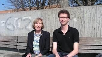 «Mit unserer Partnerschaft hatten wir einfach Glück», erklären die 73-jährige ehemalige Lehrerin Verena Demuth und der 24-jährige Student Matthias Sommer.