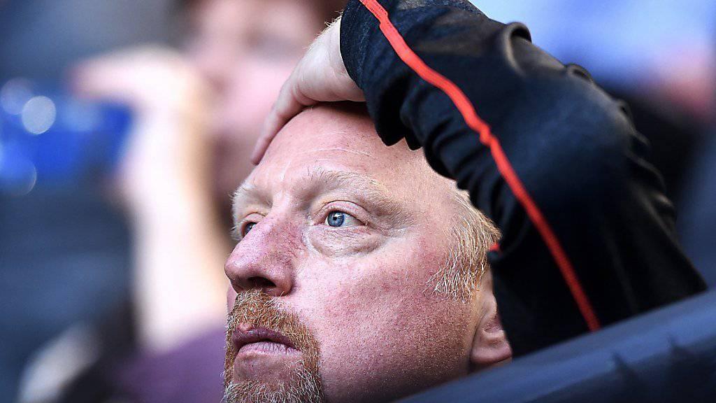 Boris Becker konnte den Konkurs nicht verhindern