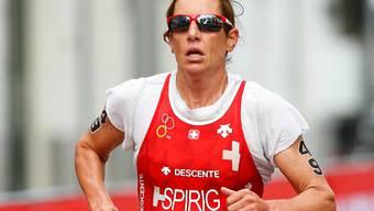 Auf Nicola Spirig ruhen einmal mehr die grossen Schweizer Medaillen-Hoffnungen im Triathlon
