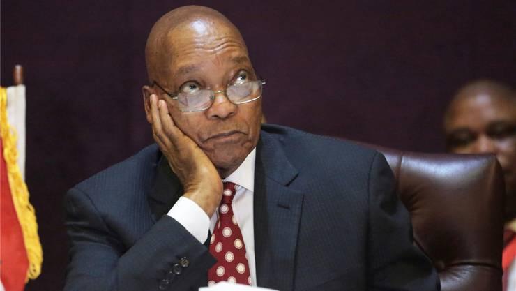 Südafrikas Präsident Jacob Zuma soll eine Marionette der indischen Unternehmerfamilie Guptas sein.Tsvangirayi Mukwazhi/AP/Keystone