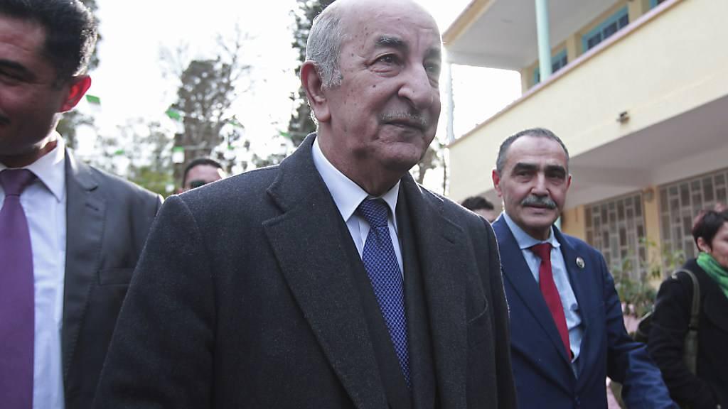 Algerien wählt früheren Regierungschef zum Präsidenten