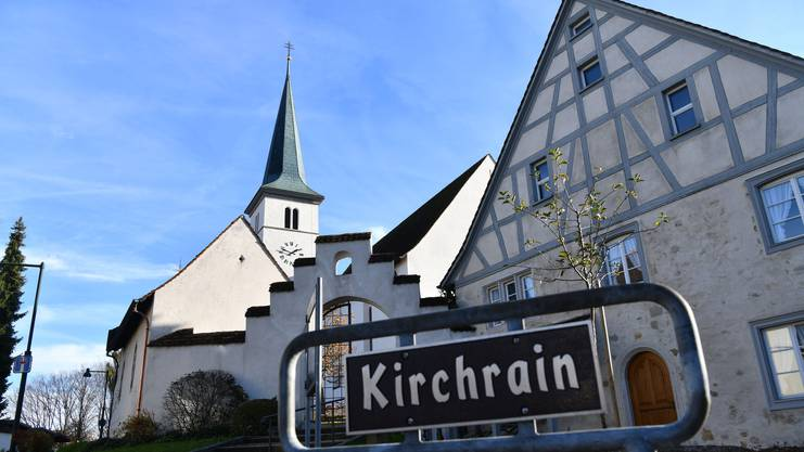Die Kirche St. Stephan in Therwil
