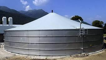 Die erste Biogasanlage im Tessin steht in Cadenazzo