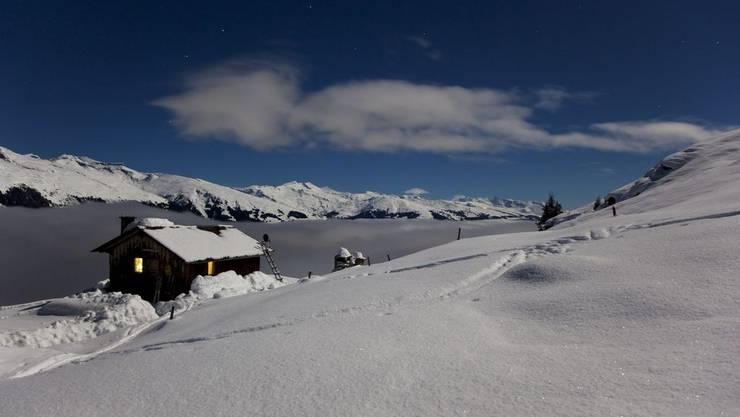Es geschah in einer Alphütte oberhalb von Ovronnaz VS.