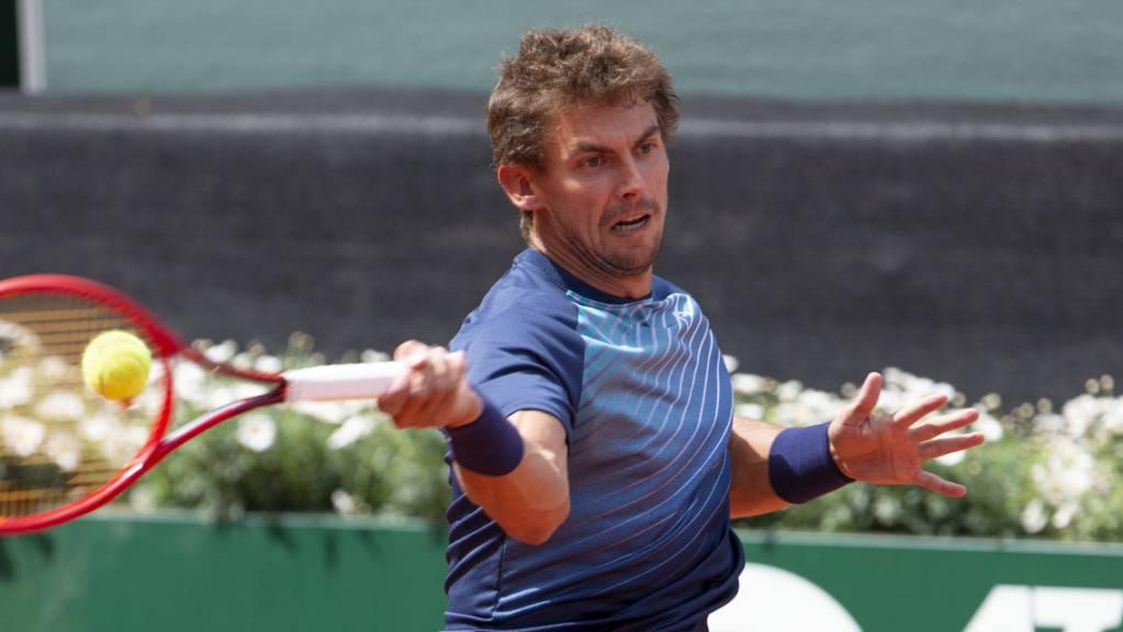 Henri Laaksonen nimmt am US Open die letzte Qualifikationshürde
